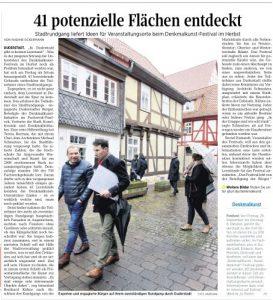 Denkmal-Kunst-Festival im Fachwerkfünfeck @ Duderstadt   Duderstadt   Niedersachsen   Deutschland